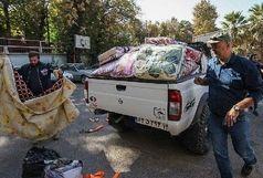 ارسال دومین محموله اقلام امدادی جمعیت هلال احمر اردبیل به زلزله زدگان