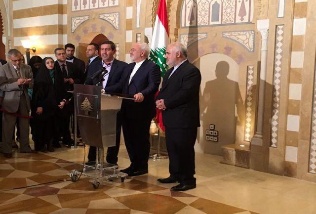 ایران حامی همیشگی لبنان است/ رژیم صهیونیستی تهدیدی برای همه است
