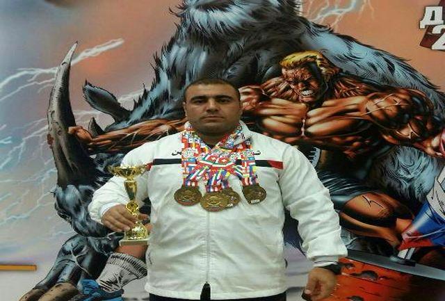 محمود عمرانی قهرمان ارزنده پاورلیفتینگ جهان با 4 مدال قهرمان قهرمانان شد