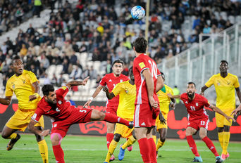 دیدار دوستانه فوتبال ایران- توگو