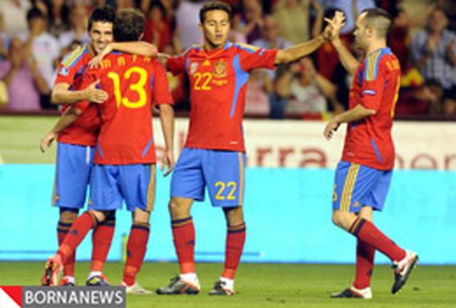 اسپانیا، ایتالیا، هلند و انگلیس مسافر یورو 2012 شدند