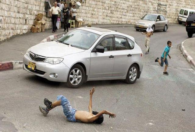 شهادت کودک فلسطینی با خودروی یک صهیونیست