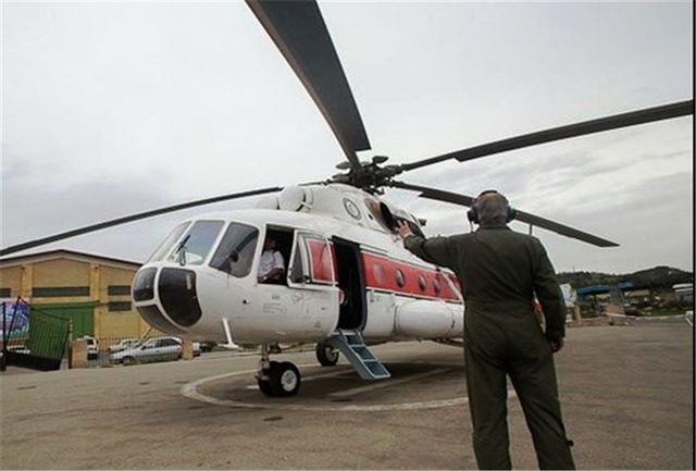 ارتقای ناوگان امداد هوایی در دستور کار هلال احمر قرار دارد