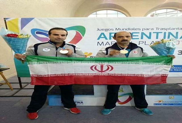 مدال طلای ورزشکار لرستانی در تنیس روی میز پیوند اعضاء قهرمانی جهان