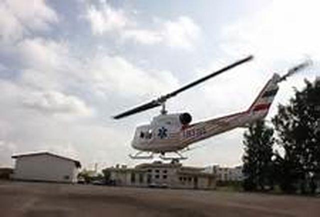 آشیانه بالگرد امداد ونجات و پایگاههای امداد و نجات روستایی بهره برداری میشود