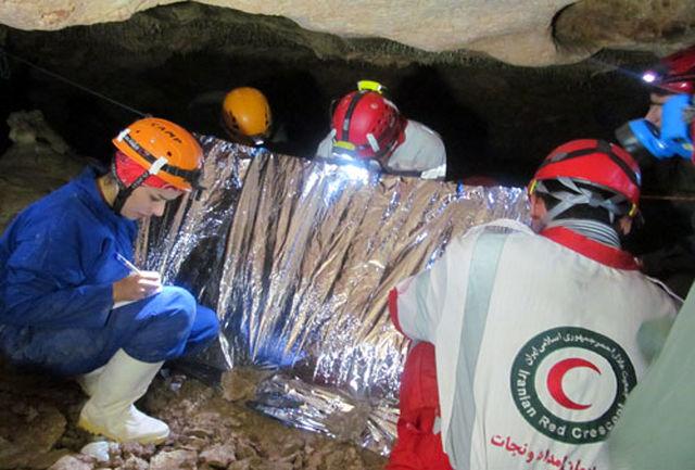 نجات دو کوهنورد از سرما پس از 7 ساعت تلاش امدادگران