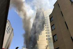 آتشسوزی گسترده خیابان امام رضا(ع) مهار شد
