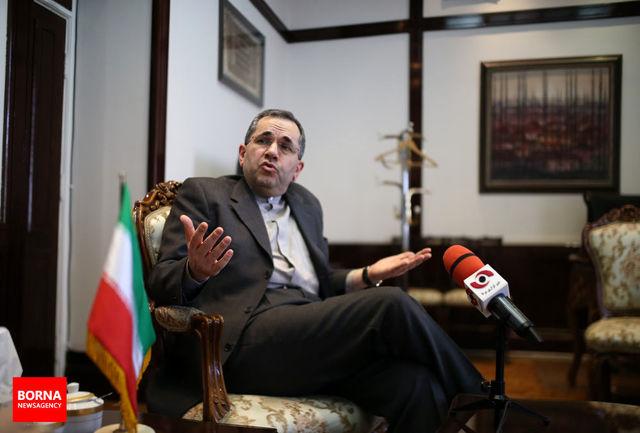 ایران آماده همکاری با ایتالیا به منظور حل مشکلات منطقه است