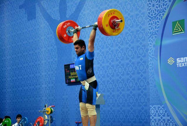 راه دشوار براری در رقابت های وزنه برداری المپیک ریو