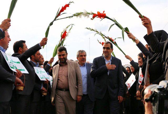 پایان سفر یک روزه وزیر بهداشت به آذربایجان غربی