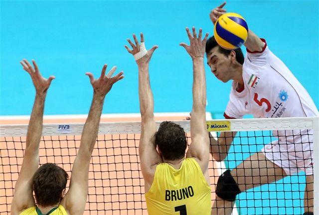 برزیل 3 - ایران صفر؛ بلندقامتان بازهم مغلوب میزبان المپیک شدند