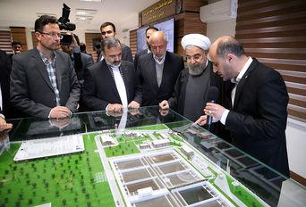 افتتاح تصفیه خانه فاضلاب «خِین عرب» مشهد با حضور رییس جمهوری