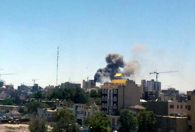 آتش سوزی دوباره در خیابان امام رضا(ع)