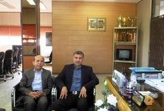 دیدار نماینده مردم هرمزگان در مجلس شورای اسلامی با مدیرکل ورزش وجوانان استان
