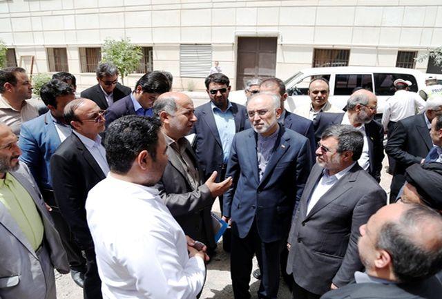 رییس سازمان انرژی اتمی از مرکز پرتودهی صنعتی قزوین بازدید کرد