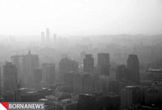 وضعیت هوای تهران به مرز هشدار رسید