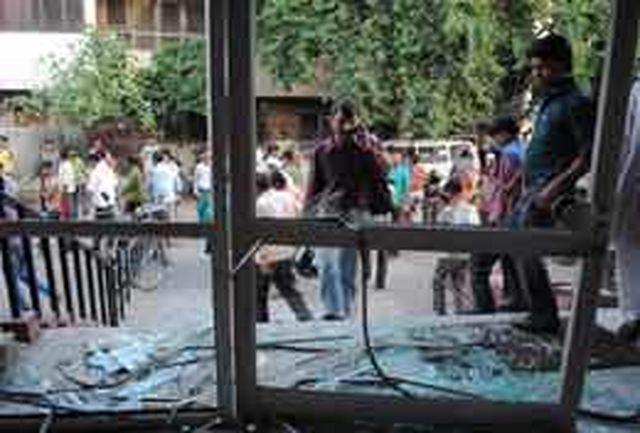 انفجار بمب در یک بیمارستان هند
