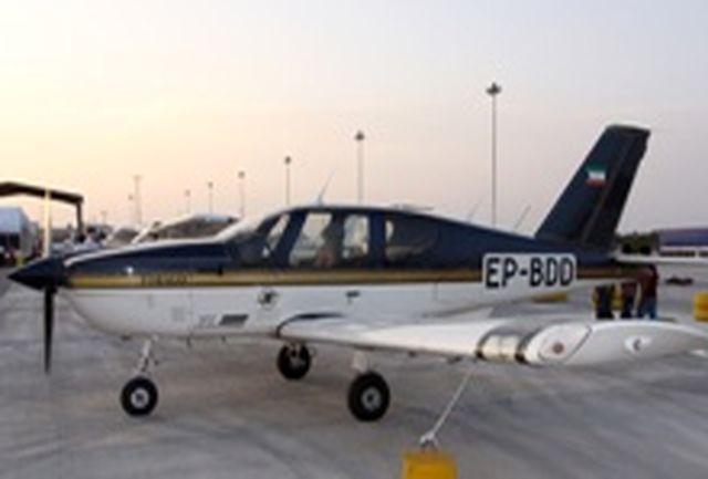 فرود اضطراری هواپیما در آزادراه قزوین–رشت