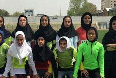 کردستان نایب قهرمان مسابقات دو و میدانی نونهالان منطقه ای دختر کشور شد