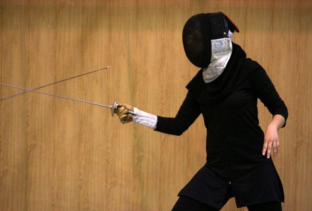 کسب جایگاه 104 بهترین عملکرد بانوی شمشیرباز ایرانی