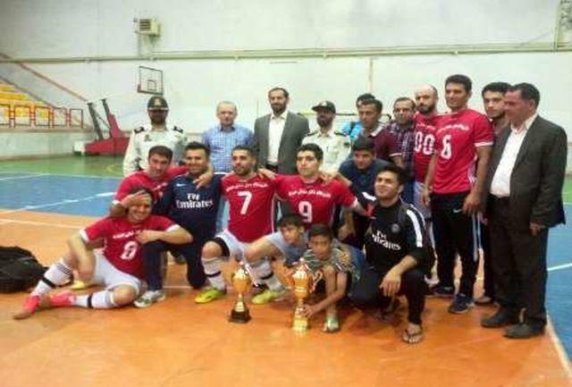 بیست و دومین دوره از مسابقات فوتسال جام رمضان در آستارا خاتمه یافت