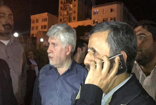 توهین احمدی نژاد به قوه قضاییه در مقابل بیمارستان بقیه الله/ این ها از کجا وارد ایران شده اند؟