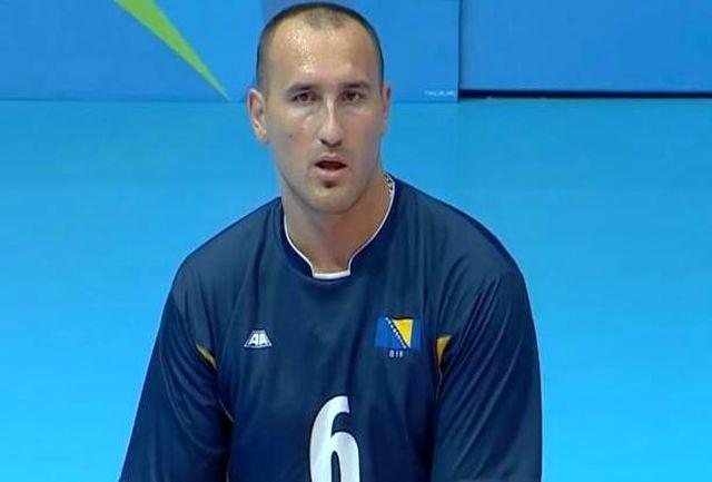اعتراف کاپیتان تیم والیبال نشسته بوسنی به اقتدار ایران