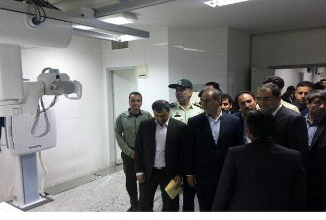 افتتاح بیمارستان قمر بنی هاشم در استان فارس