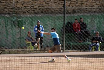 مسابقات جایزه بزرگ تنیس کشور یادواره شهید سید احمد برقعی و هفته تربیت بدنی و ورزش در همدان