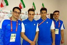 شناگران اصفهانی در بازیهای داخل سالن ترکمنستان