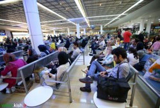 رشد 25 درصدی تردد مسافران کیش در آبان ماه امسال