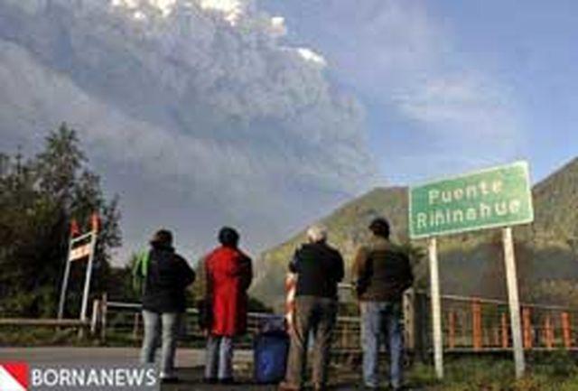 عکس: خشم آتشفشان سینابانگ