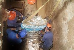 مشکل افت فشار آب در نازی آباد برطرف شد