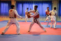 قضاوت داور تکواندو سبزواری در رقابت های لیگ نوجوانان باشگاه های کشور