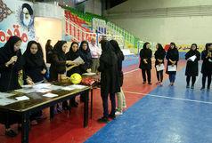 مسابقات فوتسال جام رمضان در بخش بانوان برگزارشد