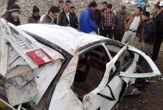 برخورد 9 دستگاه خودرو در تصادف زنجیرهای در محور دامغان-شاهرود