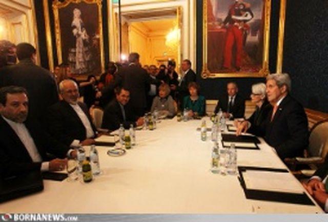 مذاکرات سه جانبه ظریف، اشتون و کری آغاز شد