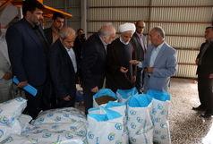 افتتاح کارخانه تولید خوراک مختص ماهیان خاویاری