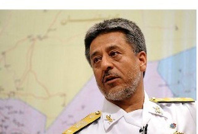 فرمانده نیروی دریایی ارتش روز پدافند غیرعامل را تبریک گفت