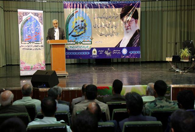 نماینده عالی دولت تدبیر و امید در خراسان شمالی؛ رونق گرفتن اقتصاد هنر در خراسان شمالی