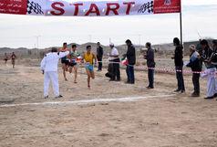 برگزاری مسابقه آزاد دوی صحرانوردی به مناسبت بزرگداشت روز بوشهر