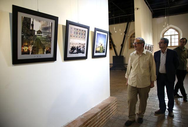 برگزیدگان جشنواره عکس «هشت» تقدیر شدند/ بازدید مسجدجامعی و ملانوروزی از نمایشگاه آثار