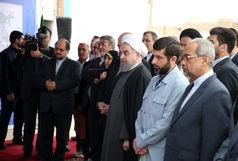 دکتر روحانی از تصفیه خانه آب شماره ٢ اهواز بازدید کرد