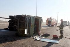 تصادف خودروی سمند و خاور 3 مصدوم بر جای گذاشت
