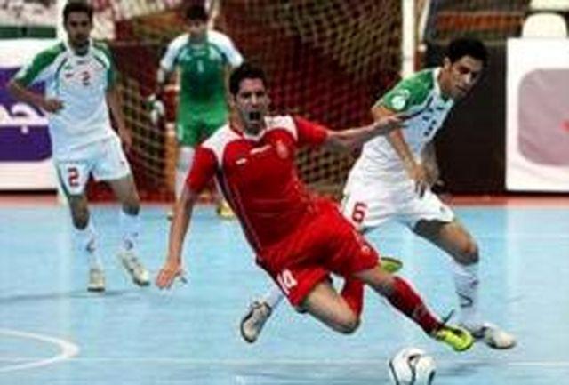 برگزاری اردوی تیم ملی جوانان فوتسال