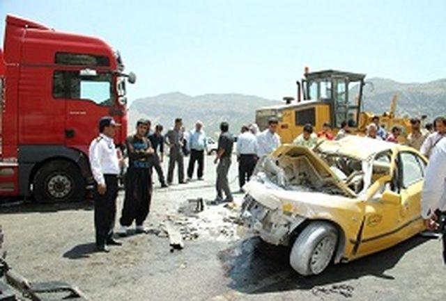 تصادف مرگباری که سه کشته داشت