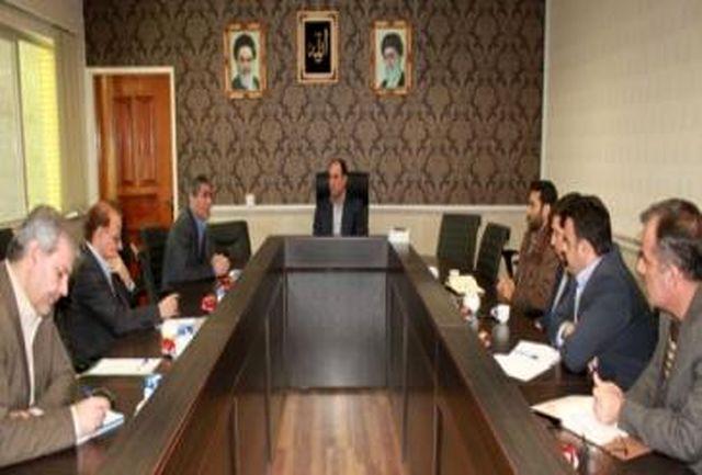 جلسه مسئولان دانشگاه های شهرستان قدس با رئیس ستاد انتخابات شهرستان