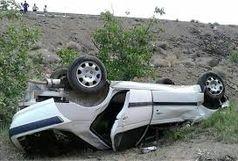 یک کشته در واژگونی سواری پژو پارس