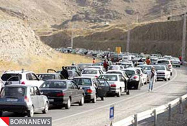 محدودیتهای ترافیکی در محورهای مواصلاتی استان تهران و البرز