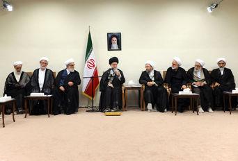 دیدار مسئولان قوه قضائیه با رهبر معظم انقلاب